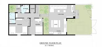 inc modern home floor plan interior design ideas