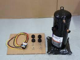 lennox ac compressor. 98g2001 copeland, lennox 2 hp, 208-230v, 1 ph, 21,000 btu ac compressor