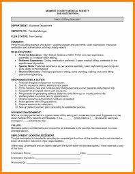 Billing Specialist Job Description Resume Burger King Manager Resume Eliolera Resume For Study 51
