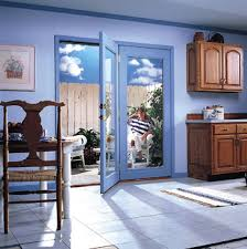 center hinged patio doors. Modren Center Hinged Patio Doors X 80 Miniblind Primed White Impressive I