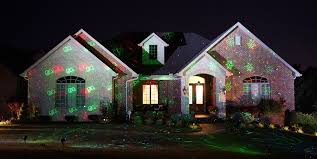 outdoor laser lights effect