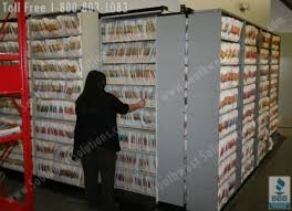 automotive car dealership filing system in their parts department