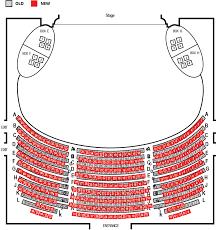 Mirvish Royal Alexandra Dress Circle Seating Map