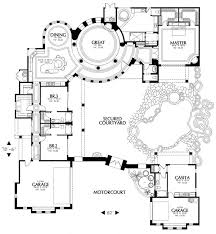 107 Best Mediterranean House Plans Images On Pinterest  Home Large House Plans