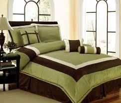 green queen size comforter sets 33 best and brown bedding images on 6