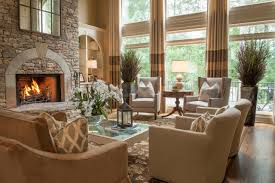 Western Living Room Curtains 100 Luxurious Living Rooms With Fireplace Home Design Etc
