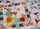 Лоскутное одеяло для детской