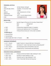 Job Resume Gorgeous Job Application Resume Template Job Application Resume Examples