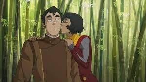 اقوى مشاهد تقبيل في افاتار اسطوره كورا - YouTube