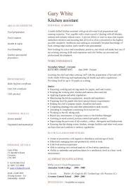 Sample Kitchen Helper Resume Stunning Curriculum Vitae Helpers