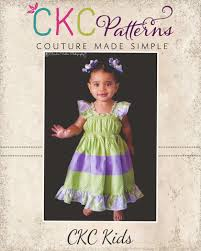 Ckc Patterns Cool Kambria's Tiered Twirly Dress Textillia
