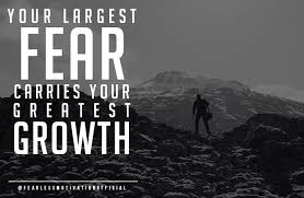 Quotes On Fear 40 Great Picture Quotes On Overcoming Fear Impressive Famous Quotes About Fear