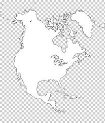 Blank Map United States Central America Paper Map Png Clipart