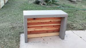 Outdoor Kitchen Countertop How To Make Concrete Countertops For An Outdoor Bar Or Kitchen