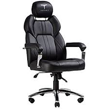 office leather chair. TOPSKY Executive Office Chair Large Leather With Adjustable Headrest High Back (Black New) Y