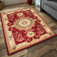 Carpeto Teppich Klassisch Orientalisch Muster 3d Effekt
