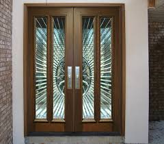 ... Contemporary Exterior Wood Entry Doors DbyD-5116