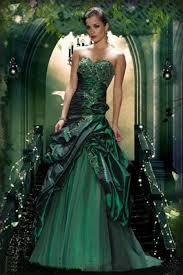green wedding dresses beautiful and glamorous green wedding