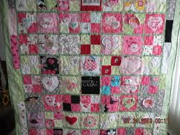custom baby clothes memory quilt hand