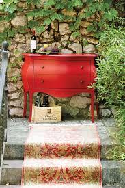 Ballard Designsu0027 Casa Florentina Console Table In Red