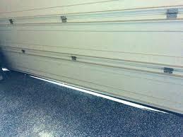 gap at bottom of door door gap fix door gap medium size of garage door has