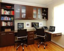 designs ideas home office. Stunning Office At Home Ideas With Brown Wooden Floor And Desk Designs