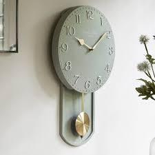olivia pendulum wall clock london clock