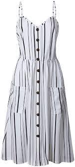 EVERICH Women's Casual Dresses <b>Spaghetti Strap Floral</b> A-Line ...
