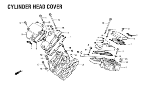 1984 honda shadow 700 vt700c cylinder head cover parts schematic search results 0 parts in 0 schematics