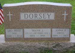 Anna Rosetta Fritz Dorsey (1894-1977) - Find A Grave Memorial