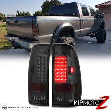 2019 F250 Smoked Cab Lights Details About Ford 97 03 F150 99 07 F250 F350 F450 Sd Super Duty Truck Smoke Led Tail Lights