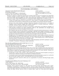 Examples Of Federal Government Resumes Sample Federal Government