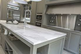 View in gallery Gorgeous kitchen siland surface is easy to maintain and  lasts much longer than traditional tiles