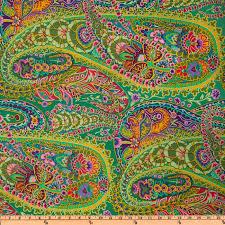 Nature & Abstract Quilting Fabrics - Discount Designer Fabric ... & Kaffe Fassett Paisley Jungle Green Adamdwight.com