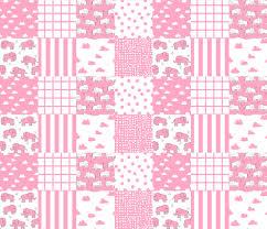 elephant quilt // wholecloth crib quilt cheater quilt crib quilt ... & elephant quilt // wholecloth crib quilt cheater quilt crib quilt crib  blanket pink elephant girl Adamdwight.com