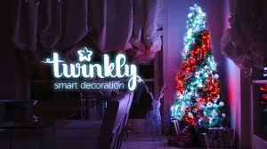 Twinkly Smart Christmas Tree Lights Twinkly Sync 400 Led Tree
