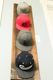 diy hat rack diy hat display hat hanger