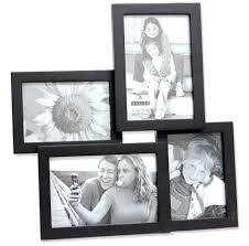 Collage Picture Frames Stacked Picture Collage Frame With 4 Frames