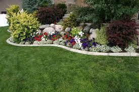 street corner flower garden ideas