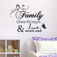 family vinyl wall e decal stickers for home decor wall decal for bedroom wall decal mural from flylife 3 82 dhgate com