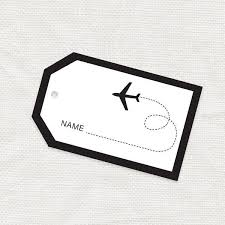Printable Luggage Tags Airline Luggage Tag Template The Best Luggage Tags To Help You Spot