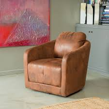 Swivel Chairs For Living Room Living Room Chairs That Swivel White Leather Swivel Chair Big