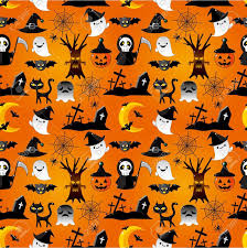 Halloween Pattern Wallpapers - Top Free ...
