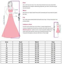 Dress Measurement Chart Dress Sizes Chart For Women Size Chart This Chart Is