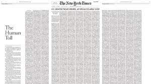 The New York Times dedicates Sunday ...