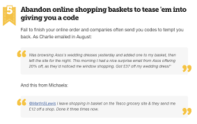 email offer should you offer discounts in cart abandonment emails salecycle blog