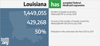 It's all part of our commitment to helping you be well and enjoy life to the fullest. Louisiana And The Aca S Medicaid Expansion Healthinsurance Org