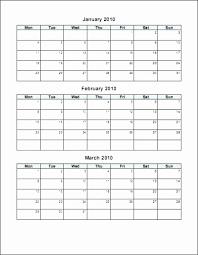 Template Monthly Calendar 2017 Calendar Template Excel Beautiful Calendar Template Editable
