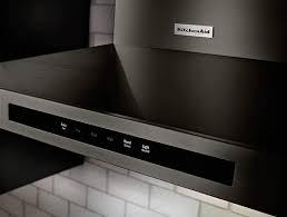 kitchenaid range hood black stainless kitchenaid range hood l9