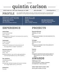 Good Resume Fonts Enchanting Resume Templates Good Fonts Top Inspirational Font Size And Style